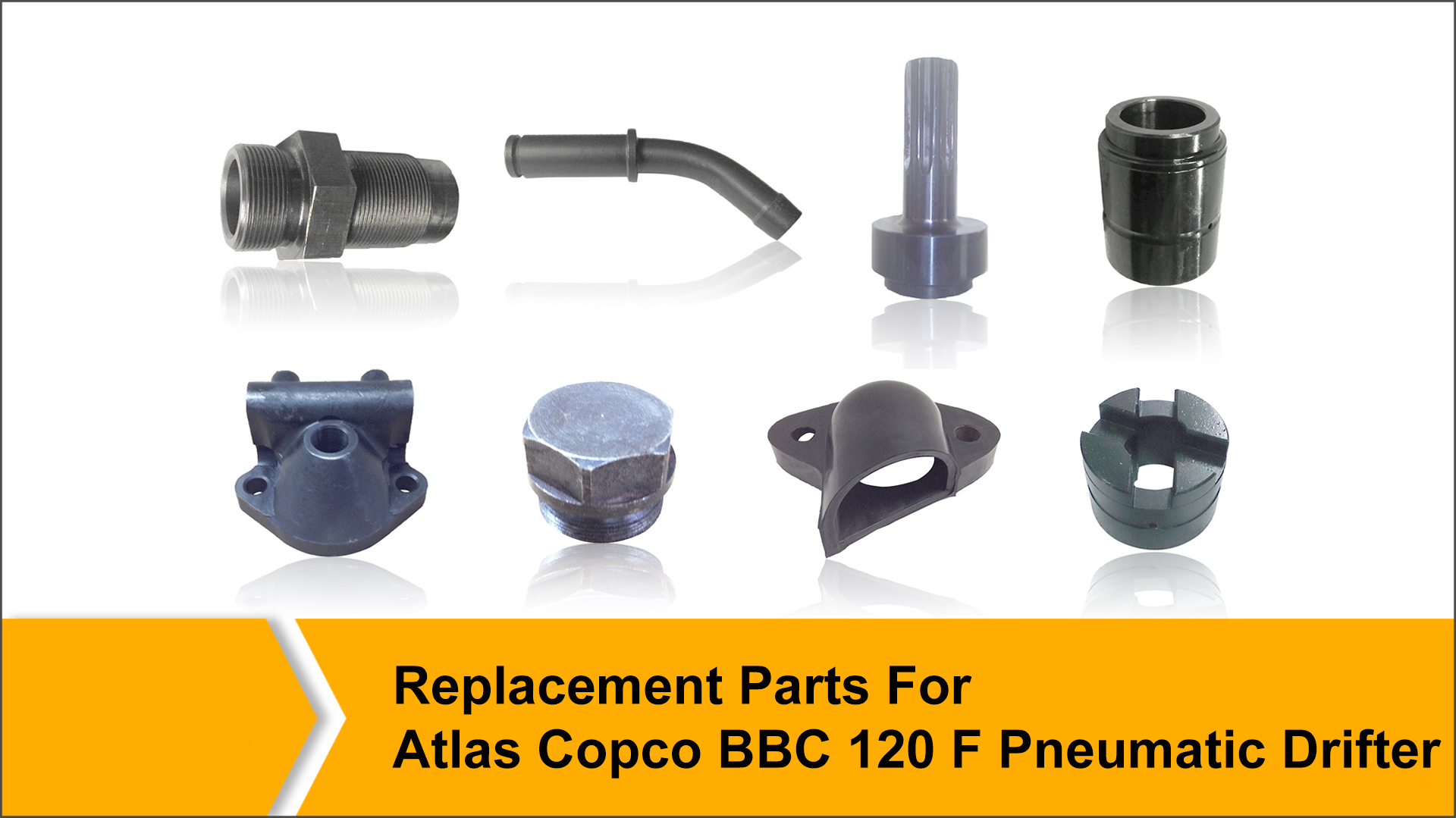 Replacement Parts for Atlas Copco BBC 120 F
