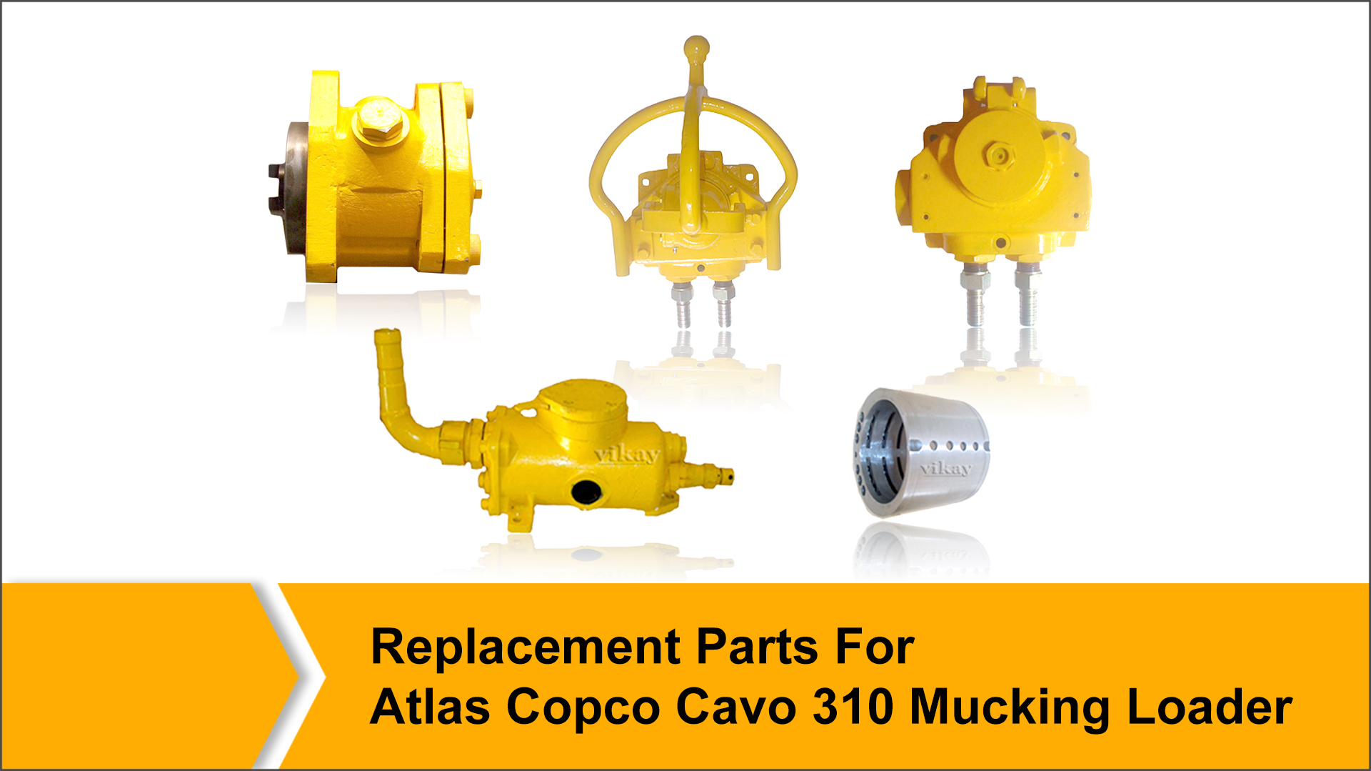 Replacement Parts for Atlas Copco Cavo 310 Mucking loader